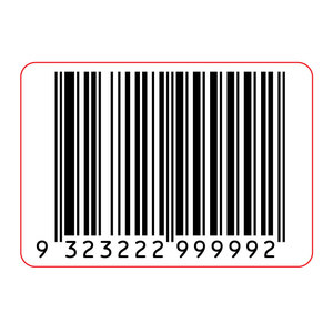 40x28mm Barcode Label